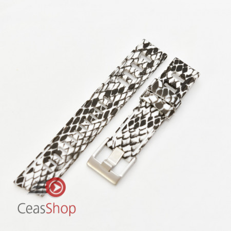 Curea ceas stil Isofrane model șarpe 20mm - 56289