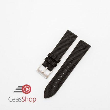 Curea piele tip Kevlar neagra 24mm - 4160124
