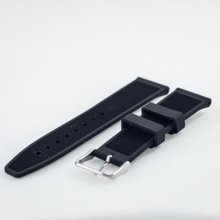 Curea silicon neagra 24mm - 31724