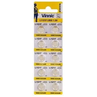 Baterie ceas Vinnic L1121/LR1120/191/V8GA - AG 8 - Blister 10buc.