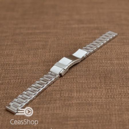 Bratara dama metalica argintie  12mm - 39379