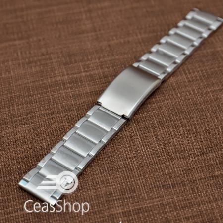 Bratara metalica argintie 24mm - 37446