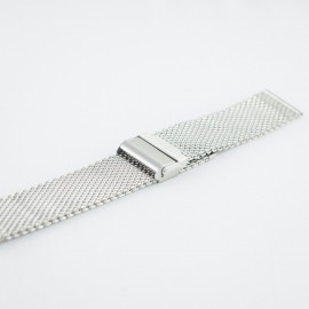 Bratara milaneza argintie 20mm  XL-40000