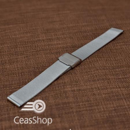 Bratara milaneza fina argintie 16mm -39862