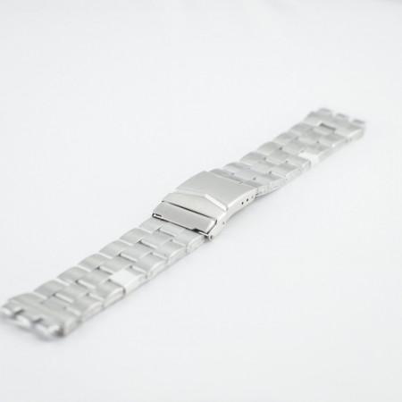 Bratara tip SWATCH argintie 20mm - 37496