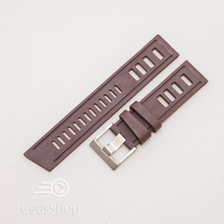 Curea ceas stil Isofrane maro 24mm - 49784