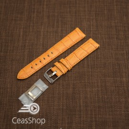 Curea model crocodil captusita portocalie  20m - 45787