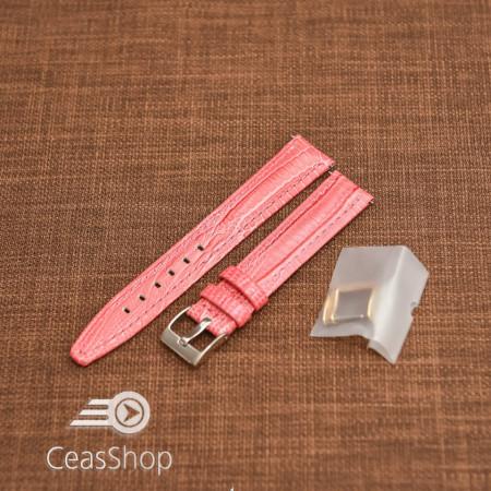 Curea model soparla captusita pe jumătate roz  12mm - 45816