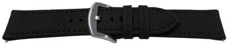 Curea panza neagra 24mm - 51524