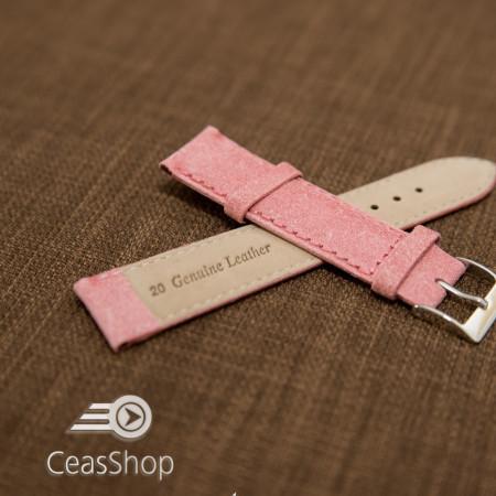 Curea piele roz vintage 20mm - 42249