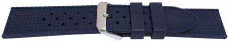 Curea silicon albastru navy model Rolex Tropic 22mm -55807
