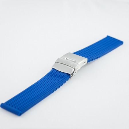 Curea silicon albatru electric 20mm - 33569