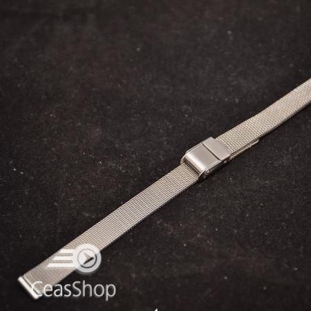 Bratara milaneza fina argintie 10mm -39856