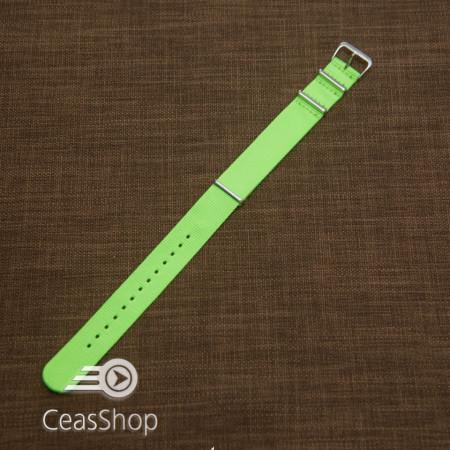 Curea NATO verde neon 18mm - 40105