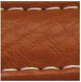 Curea piele buffalo captusita maro deschis 20 mm - 34846