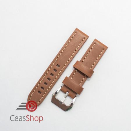 Curea piele maro QR 24mm - 3840324