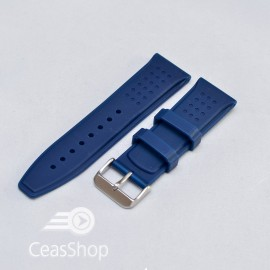 Curea silicon navy 22mm - 31721