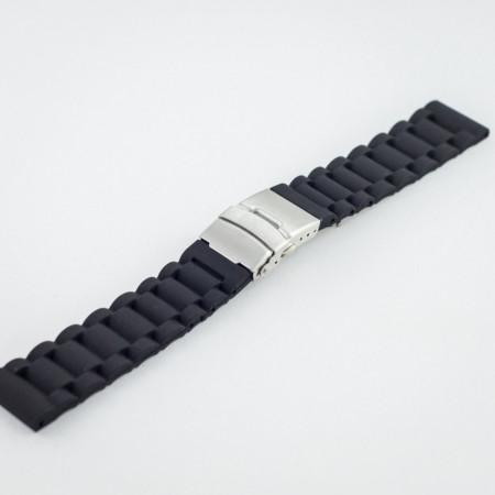 Curea silicon neagra 22mm - 34603