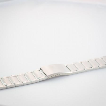 Bratara metalica argintie 22mm
