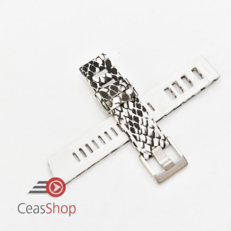 Curea ceas stil Isofrane model șarpe 22mm - 56290