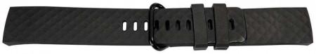 Curea din silicon pentru Fitbit Charge 3 neagra -60113