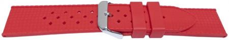 Curea silicon roșie model Rolex Tropic 22mm -55816