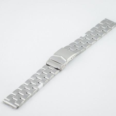 Bratara metalica argintie 20mm - 37464