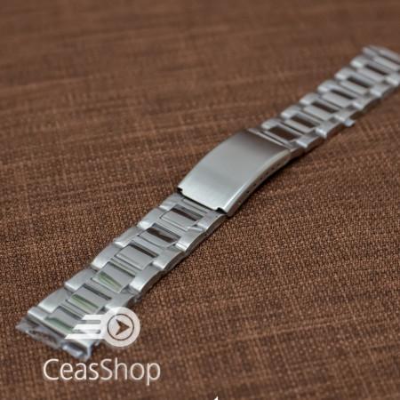 Bratara metalica argintie 24mm - 38866