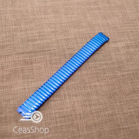 Bratara tip SWATCH extensibila bleumarin 17mm