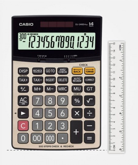Calculator Casio DJ 240D PLUS