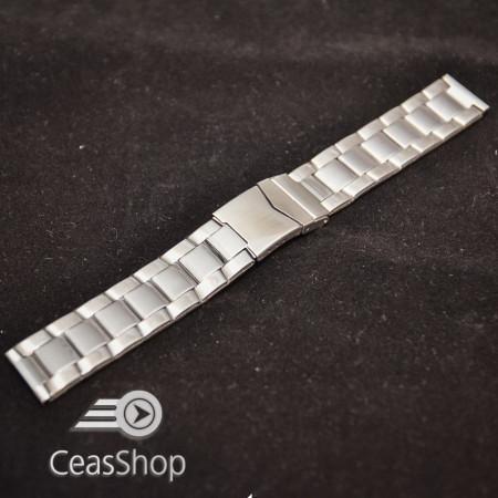 Bratara metalica argintie 20mm - 38938