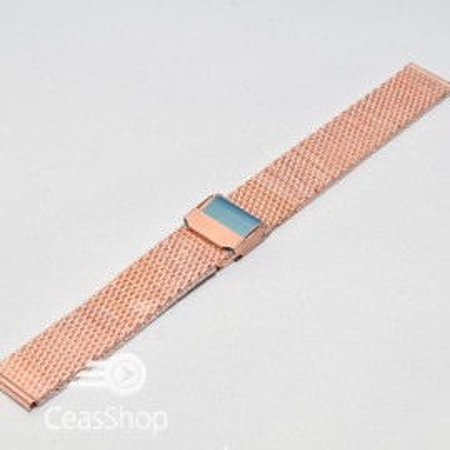Bratara milaneza aur rosu 18mm - 39994
