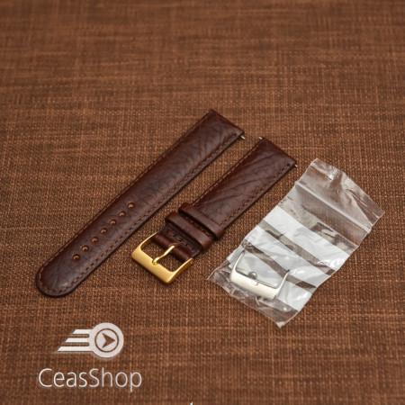 Curea antialergica maron inchis 20mm - 33110