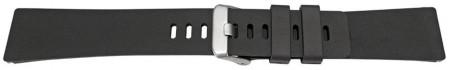 Curea din silicon pentru Fitbit Versa/Versa 2 neagra -60045
