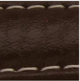 Curea piele buffalo captusita maro inchis 20mm - 34841