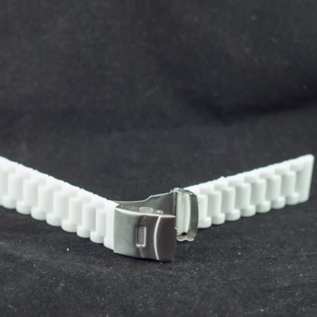 Curea silicon alba 22mm - 34606