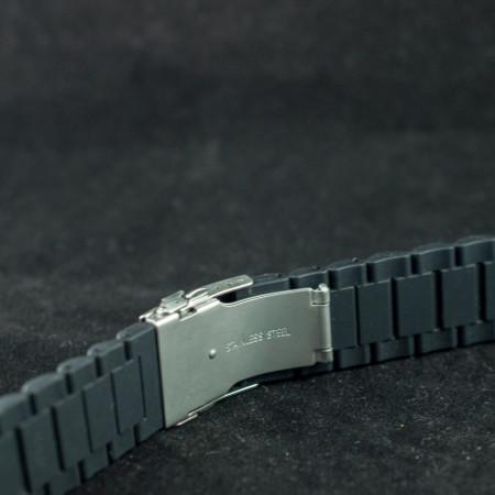 Curea silicon neagra 20mm - 34602