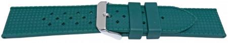 Curea silicon verde model Rolex Tropic 22mm -55825