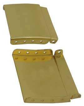 Extensie pentru catarama din trei parti aurie de 18mm