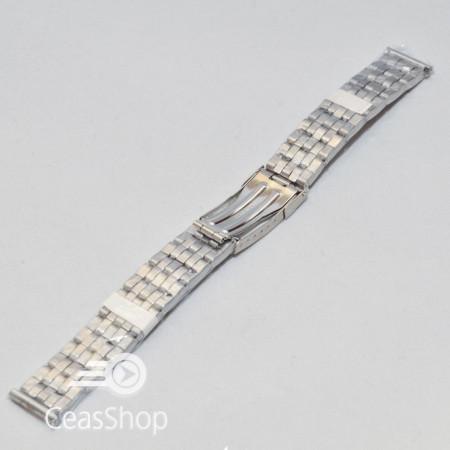 Bratara dama metalica argintie  16mm - 37491