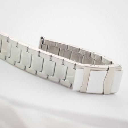 Bratara metalica argintie 22mm - 37453