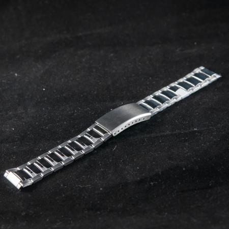 Bratara metalica argintie 22mm  - 37474