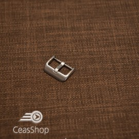 Catarama argintie otel satinat 16mm - 42341