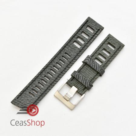 Curea ceas stil Isofrane model jeans 22mm - 56287