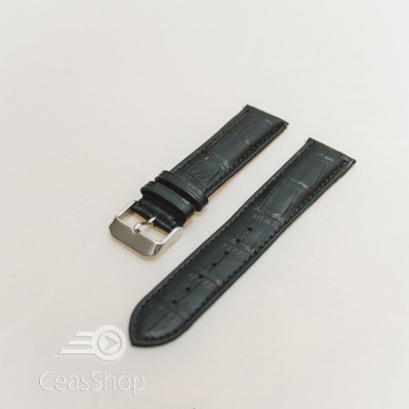 Curea model crocodil captusita pe jumatate neagra 22mm - 51491