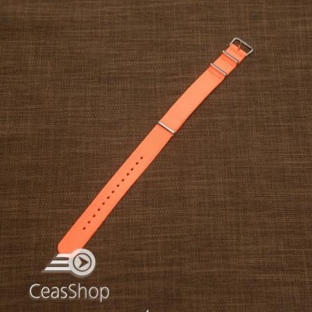 Curea NATO portocaliu neon 18mm - 40108