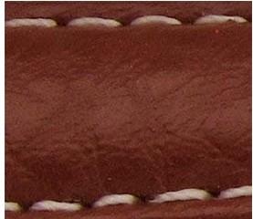 Curea piele buffalo captusita maro  20 mm - 34844