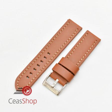 Curea piele maro castaniu XL QR 20mm - 384EL0820