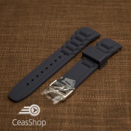 Curea silicon navy capat curbat 22mm - 43399
