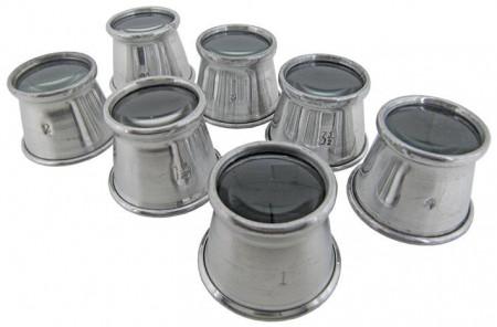 Lupa ceasornicar nr.2(x5) aluminiu -34928